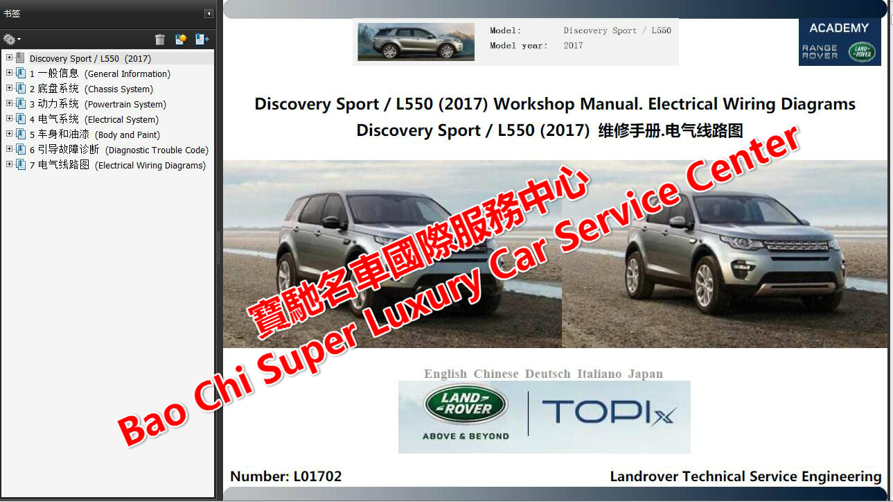 2019 2005 Full Set Land Rover Workshop Repair Manual Wiring 2015 Range Sport Diagram Schematic 2008 Landrover Defender L316 Manualwiring 2007